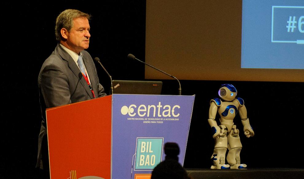 Neo nos visitó en el 6º Congreso celebardo en Bilbao